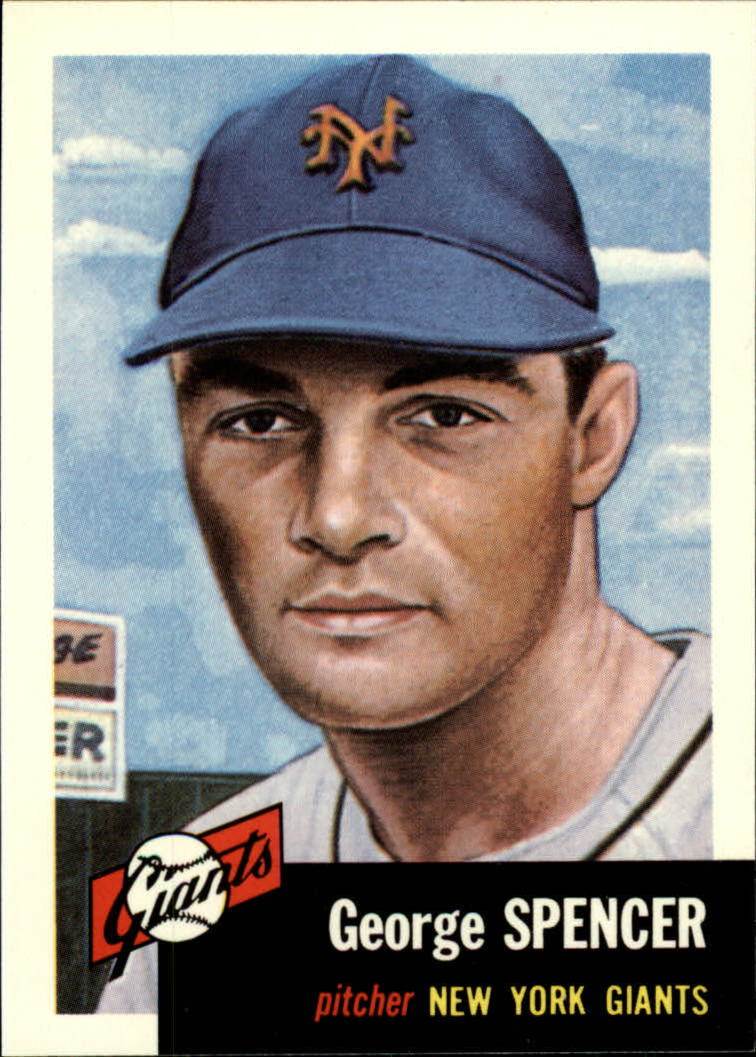 1991 Topps Archives 1953 #115 George Spencer