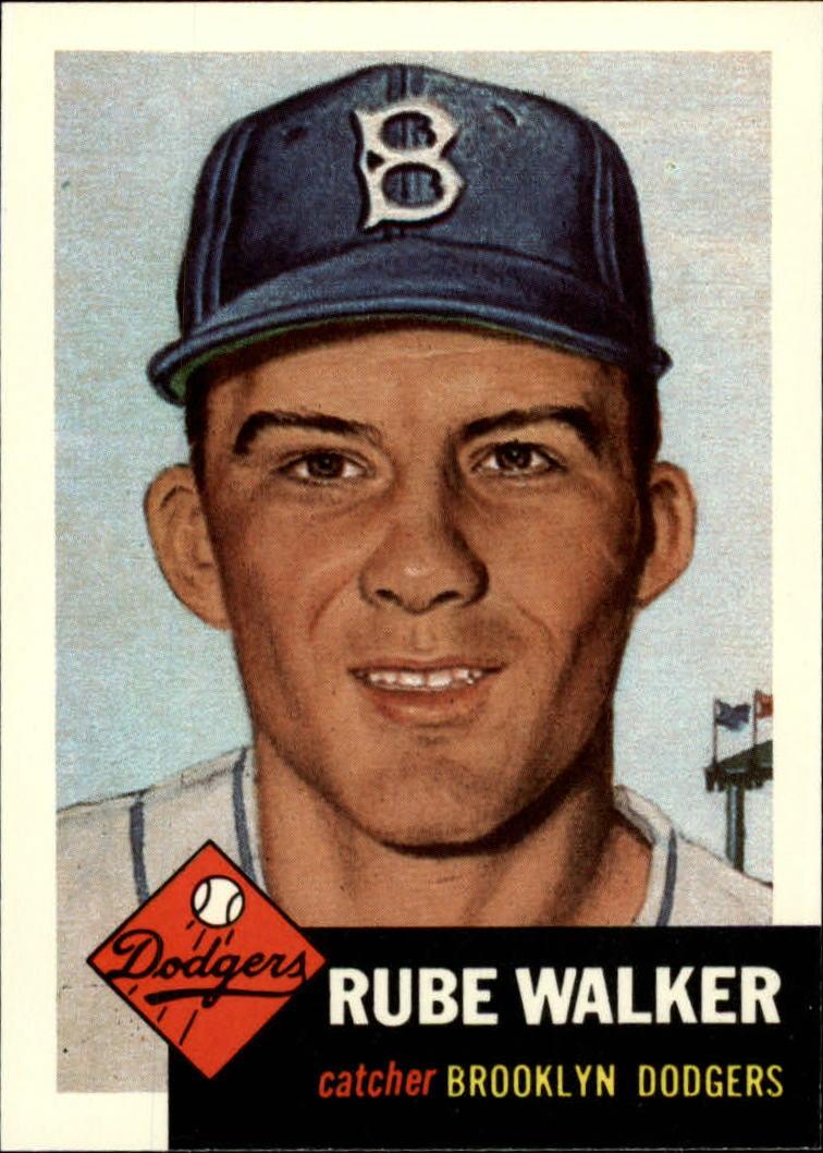 1991 Topps Archives 1953 #134 Rube Walker