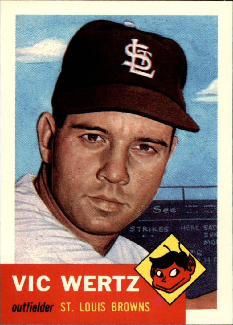 1991 Topps Archives 1953 #142 Vic Wertz