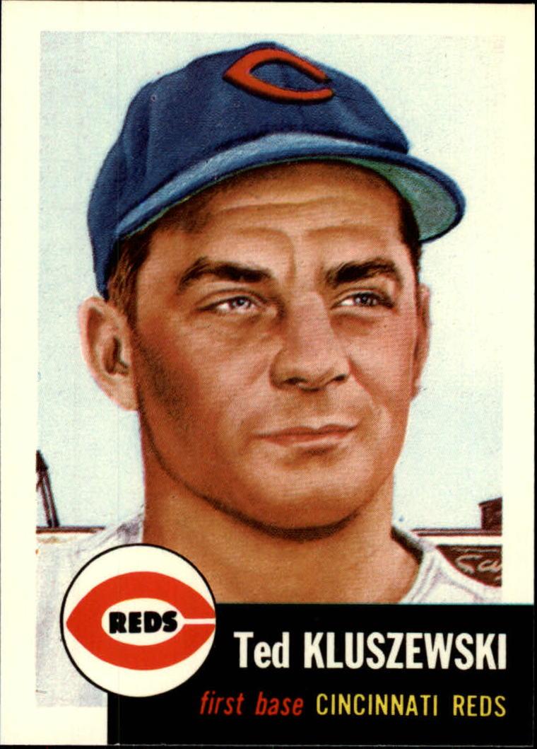 1991 Topps Archives 1953 #162 Ted Kluszewski