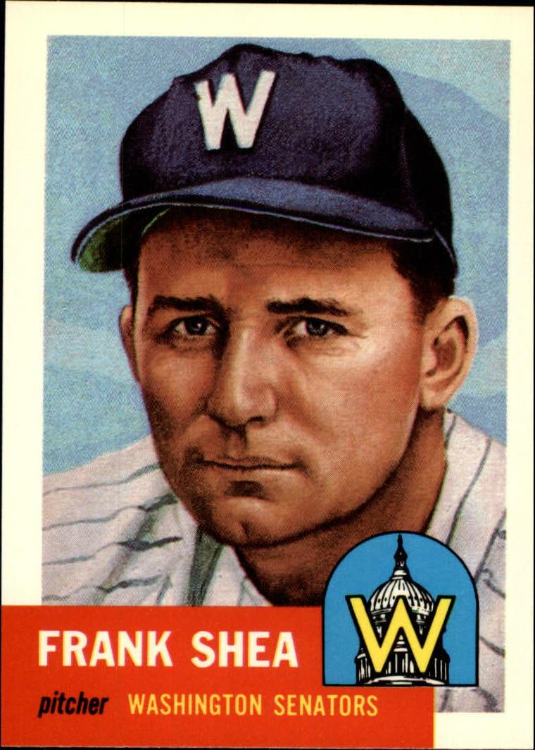 1991 Topps Archives 1953 #164 Frank Shea