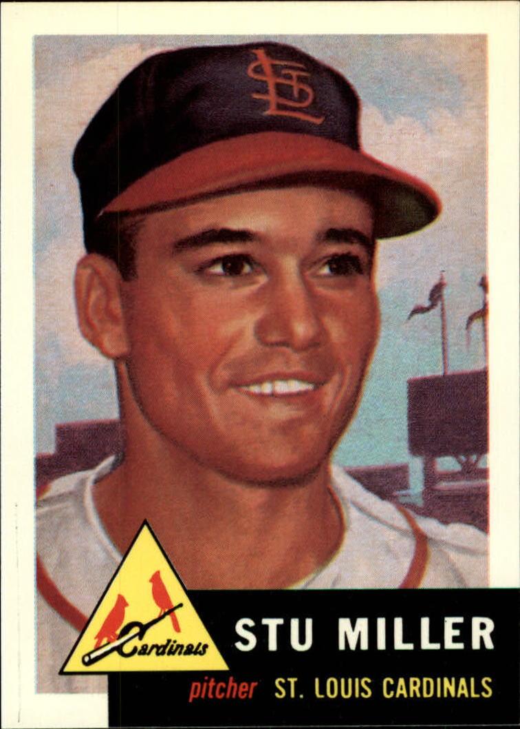1991 Topps Archives 1953 #183 Stu Miller