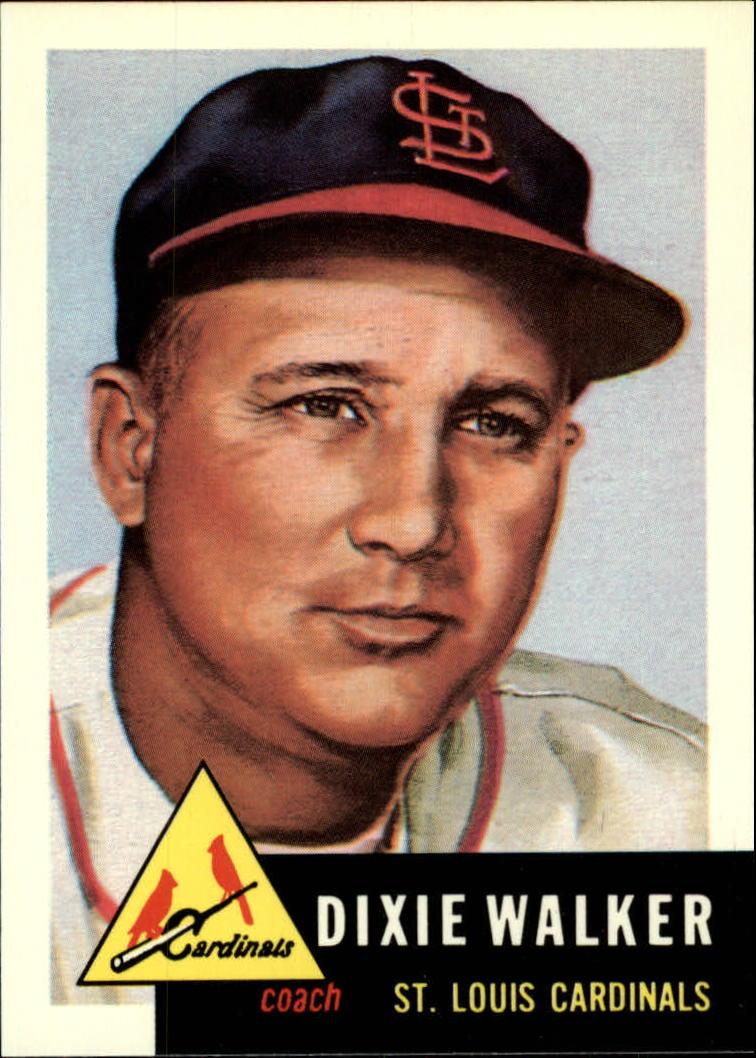 1991 Topps Archives 1953 #190 Dixie Walker CO