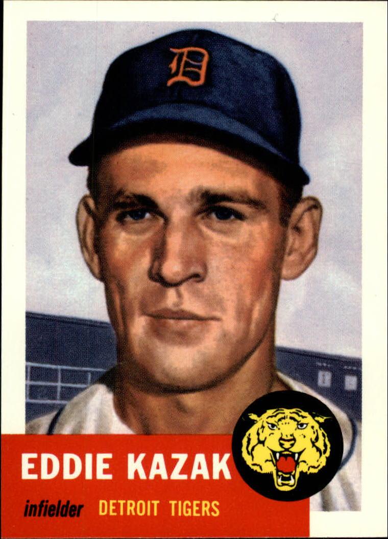 1991 Topps Archives 1953 #194 Eddie Kazak