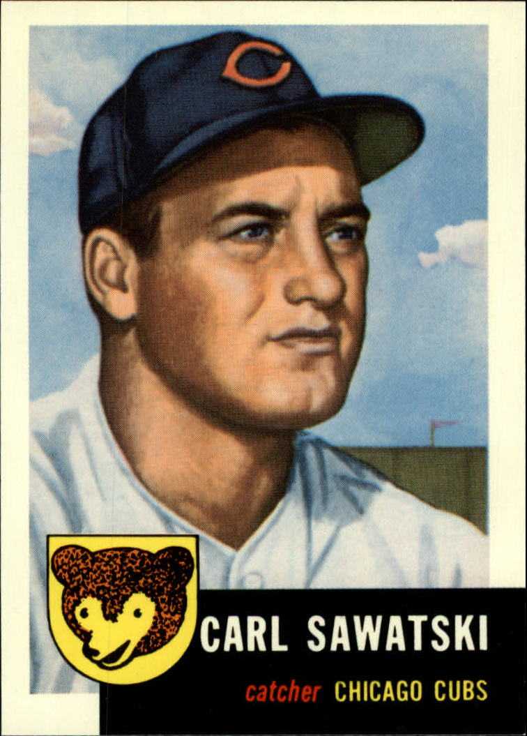 1991 Topps Archives 1953 #202 Carl Sawatski
