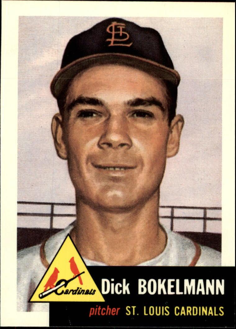 1991 Topps Archives 1953 #204 Dick Bokelman