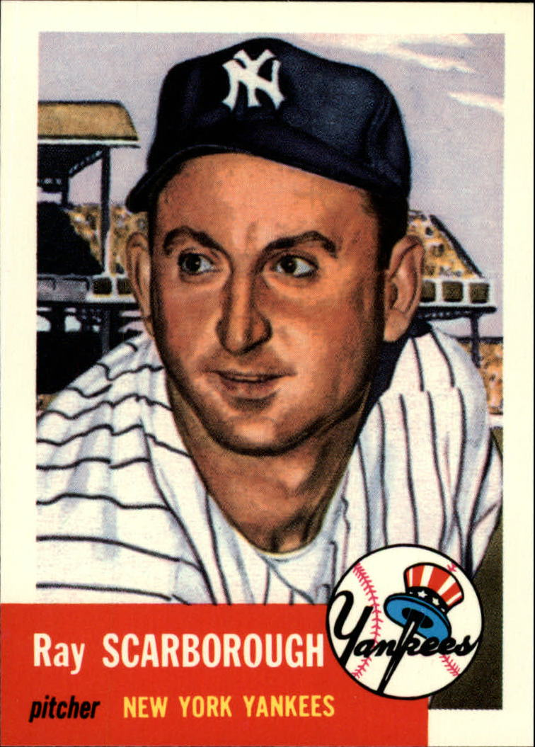 1991 Topps Archives 1953 #213 Ray Scarborough