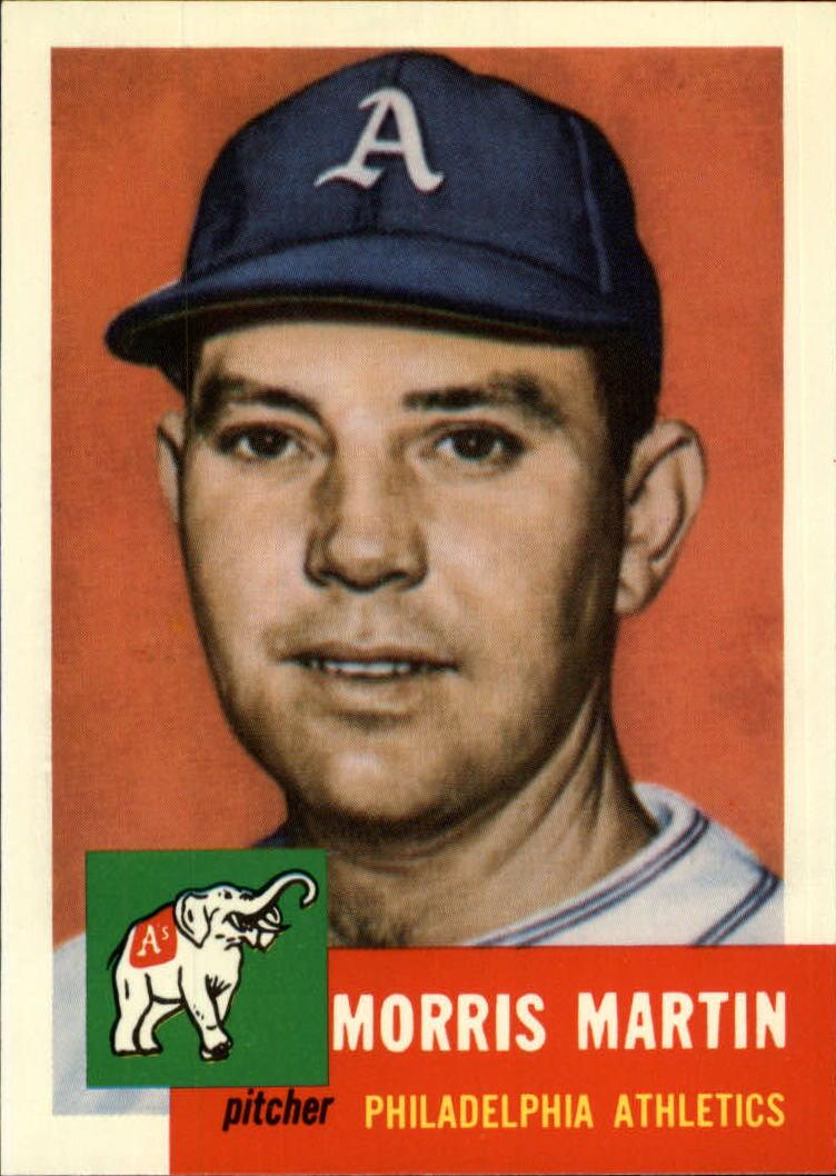 1991 Topps Archives 1953 #227 Morrie Martin