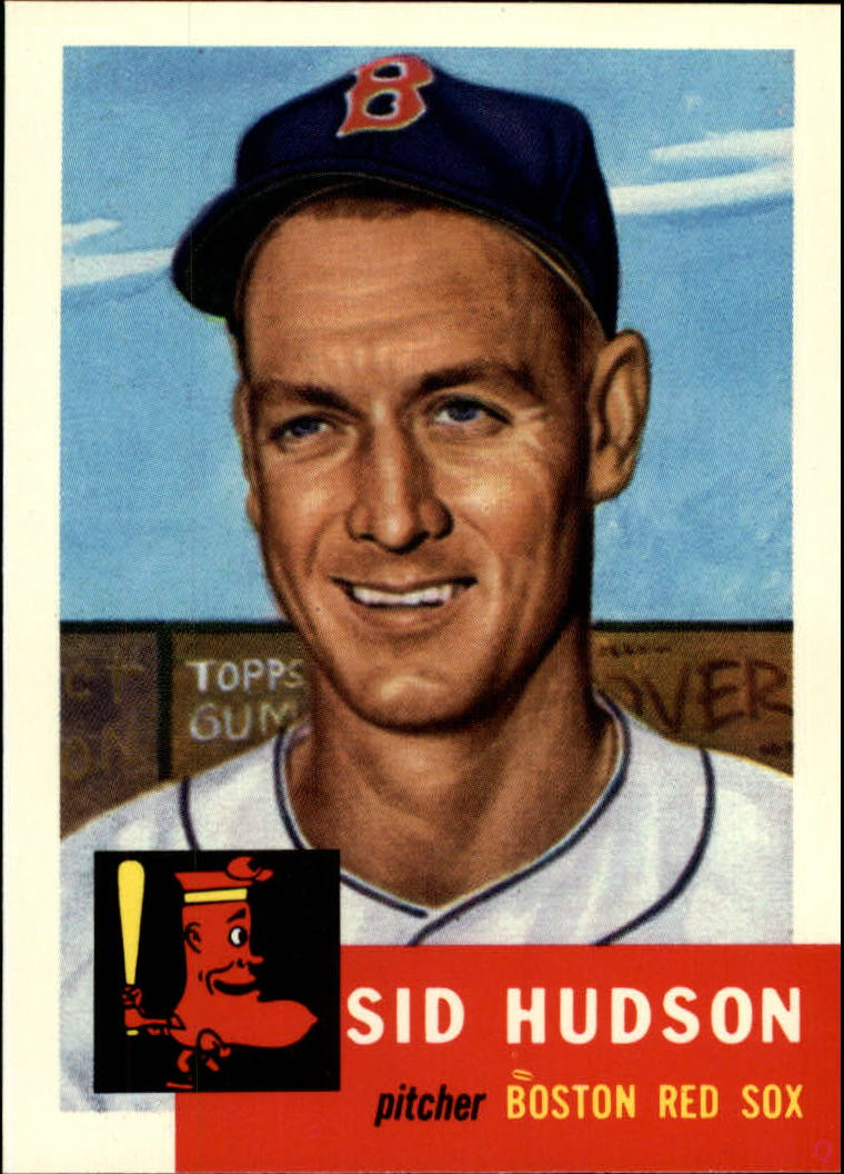 1991 Topps Archives 1953 #251 Sid Hudson