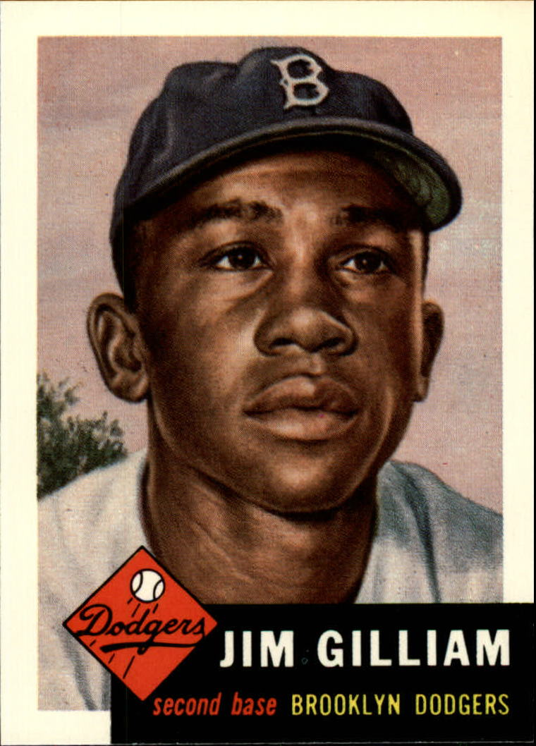 1991 Topps Archives 1953 #258 Jim Gilliam