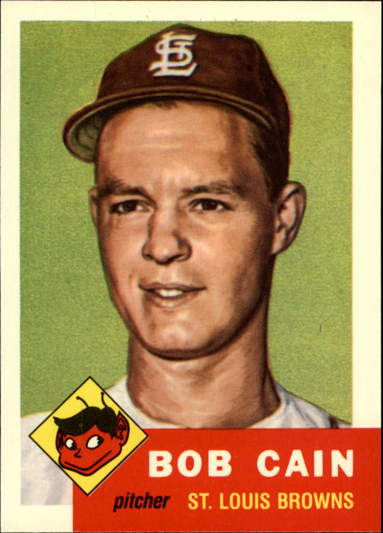 1991 Topps Archives 1953 #266 Bob Cain