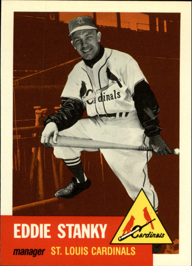 1991 Topps Archives 1953 #300 Eddie Stanky
