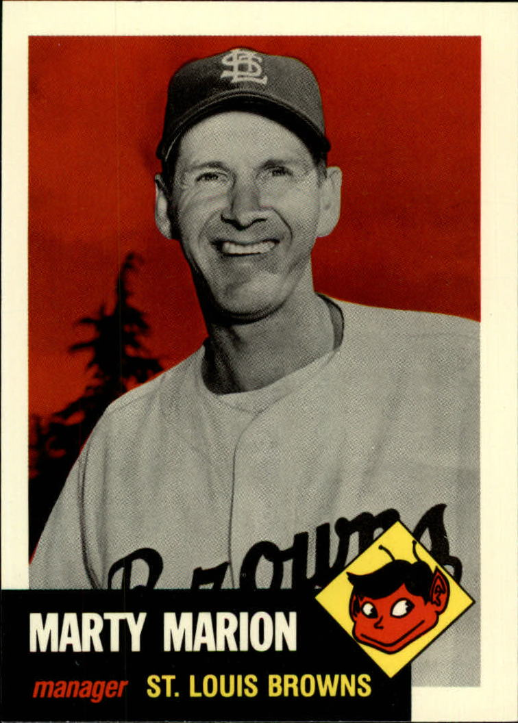 1991 Topps Archives 1953 #302 Marty Marion