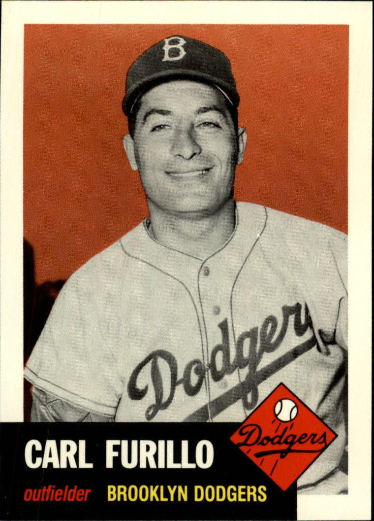 1991 Topps Archives 1953 #305 Carl Furillo