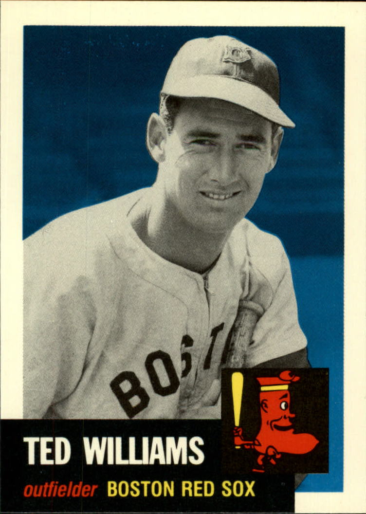 1991 Topps Archives 1953 #319 Ted Williams