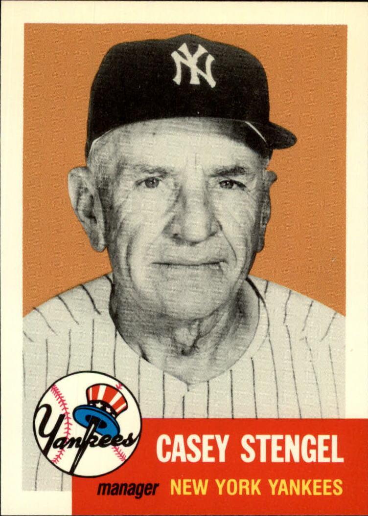 1991 Topps Archives 1953 #325 Casey Stengel MG