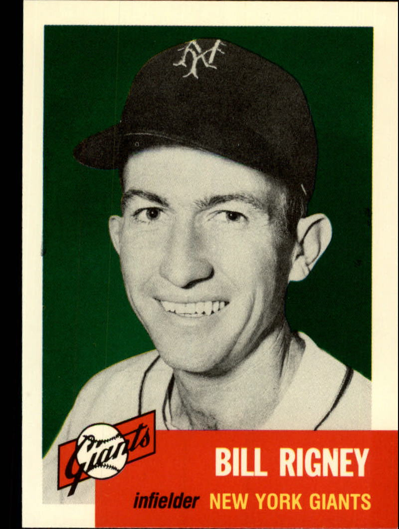 1991 Topps Archives 1953 #328 Bill Rigney