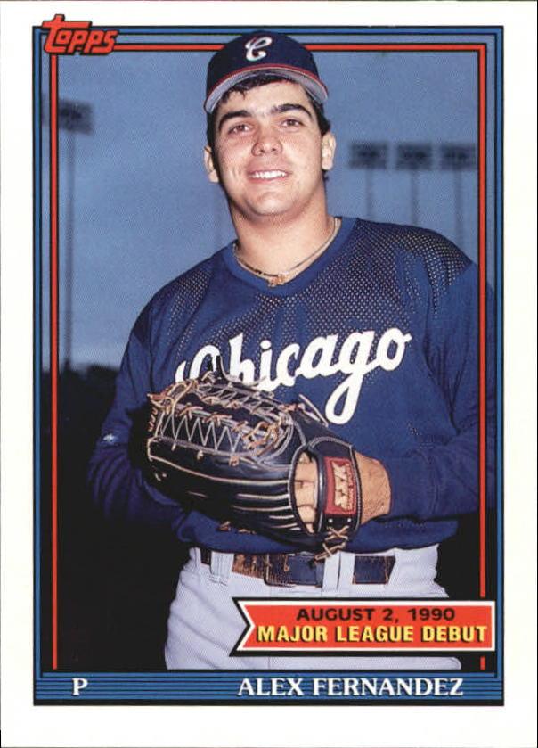1991 Topps Debut '90 #48 Alex Fernandez