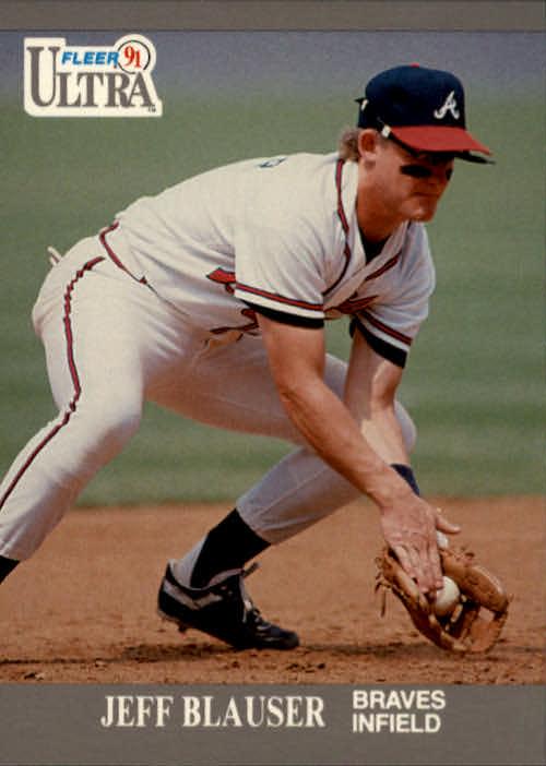 1991 Ultra #2 Jeff Blauser
