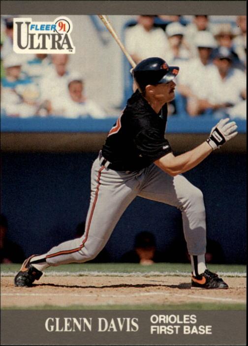 1991 Ultra #14 Glenn Davis