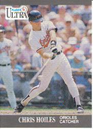 1991 Ultra #17 Chris Hoiles