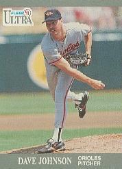 1991 Ultra #18 Dave Johnson