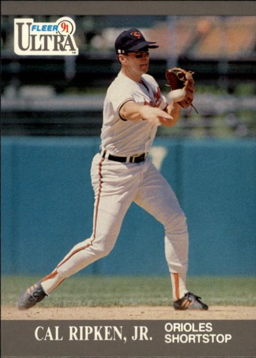 1991 Ultra #24 Cal Ripken