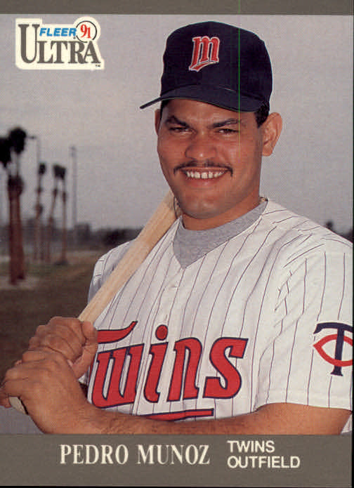 1991 Ultra #192 Pedro Munoz RC