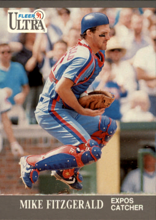 1991 Ultra #201 Mike Fitzgerald