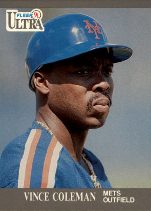 1991 Ultra #212 Vince Coleman