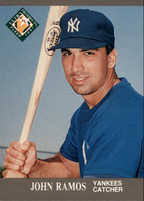 1991 Ultra #385 John Ramos MLP RC