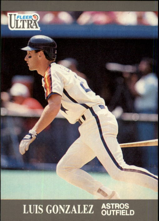 1991 Ultra Update #82 Luis Gonzalez RC