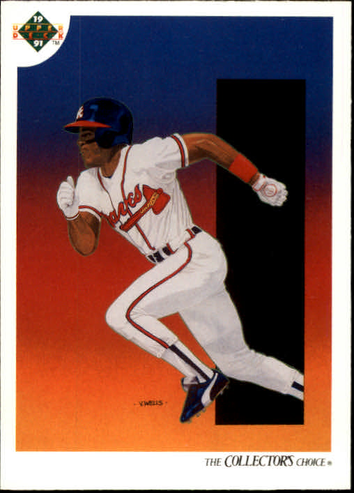 1991 Upper Deck #82 Ron Gant TC