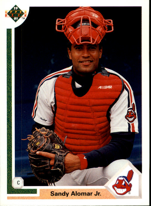 Details About 1991 Upper Deck Baseball Card 144 Sandy Alomar Jr