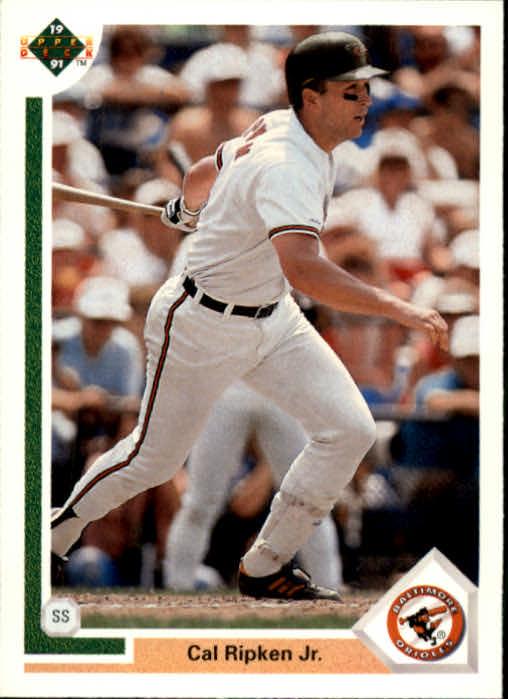 Cal Ripken Jr. Baseball Card 1991 Upper Deck # 347 NM//MT