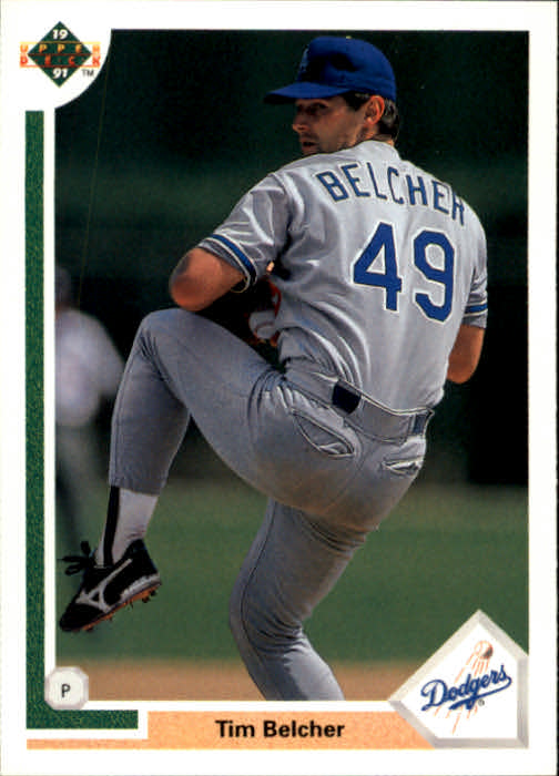 1991 Upper Deck #576 Tim Belcher