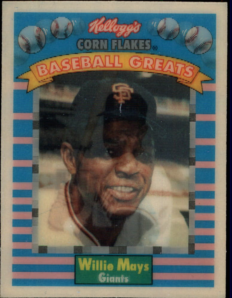 1991 Kellogg's 3D #3 Willie Mays