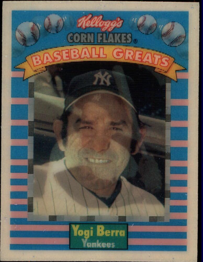 1991 Kellogg's 3D #11 Yogi Berra