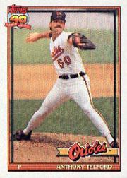 1991 O-Pee-Chee #653 Anthony Telford