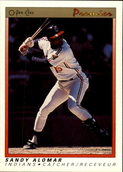1991 O-Pee-Chee Premier #2 Sandy Alomar Jr.