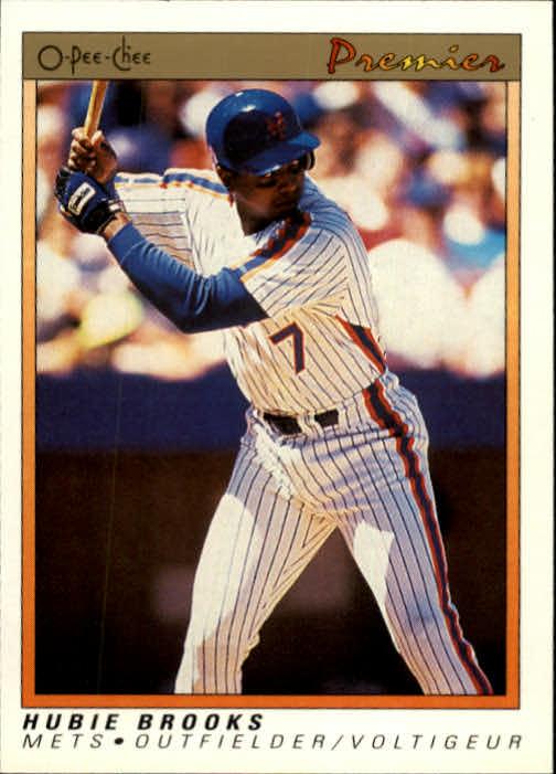 1991 O-Pee-Chee Premier #15 Hubie Brooks