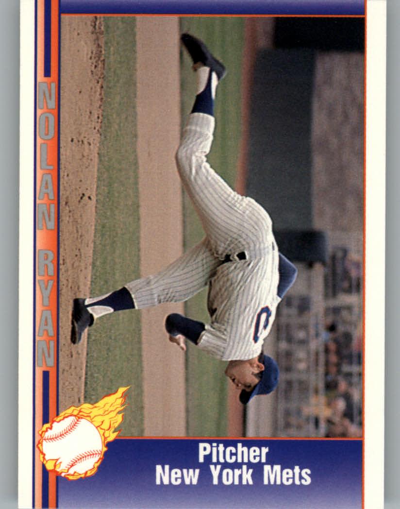 1991 Pacific Ryan Texas Express I #18 Nolan Ryan/Pitcher New York Mets