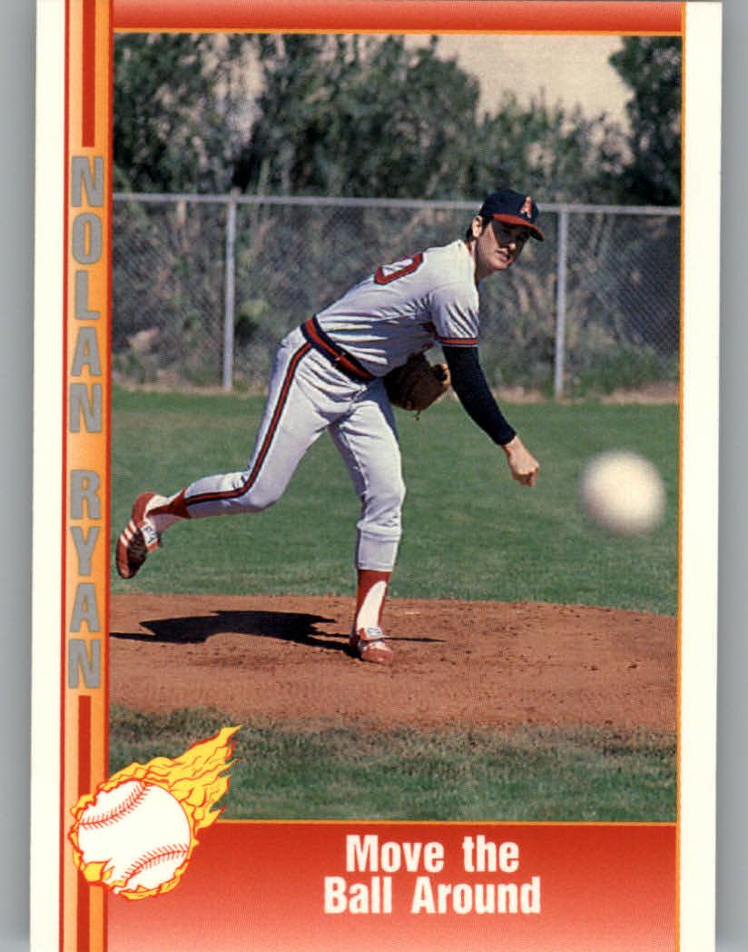 1991 Pacific Ryan Texas Express I #22 Nolan Ryan/Move the Ball Around