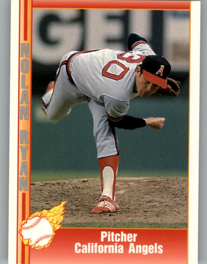 1991 Pacific Ryan Texas Express I #34 Nolan Ryan/Pitcher California Angels
