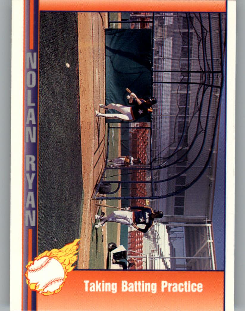 1991 Pacific Ryan Texas Express I #37 Nolan Ryan/Taking Batting Practice