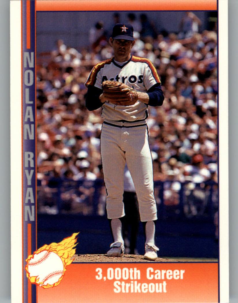 1991 Pacific Ryan Texas Express I #39 Nolan Ryan/3,000 Career Strikeout