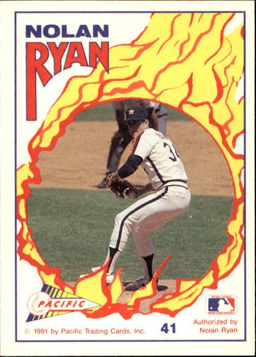 1991 Pacific Ryan Texas Express I 41 Nolan Ryanthe Fast