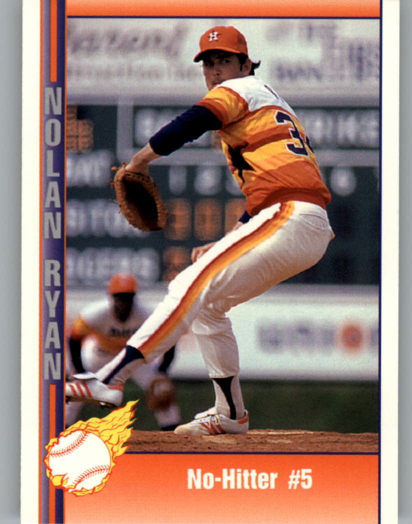 1991 Pacific Ryan Texas Express I #43 Nolan Ryan/No-Hitter Number 5