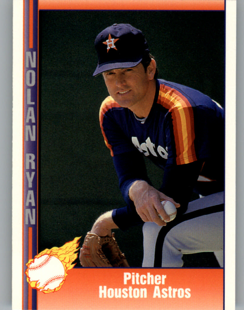 Details About 1991 Pacific Ryan Texas Express I Baseball Card 48 Pitcher Houston Astros