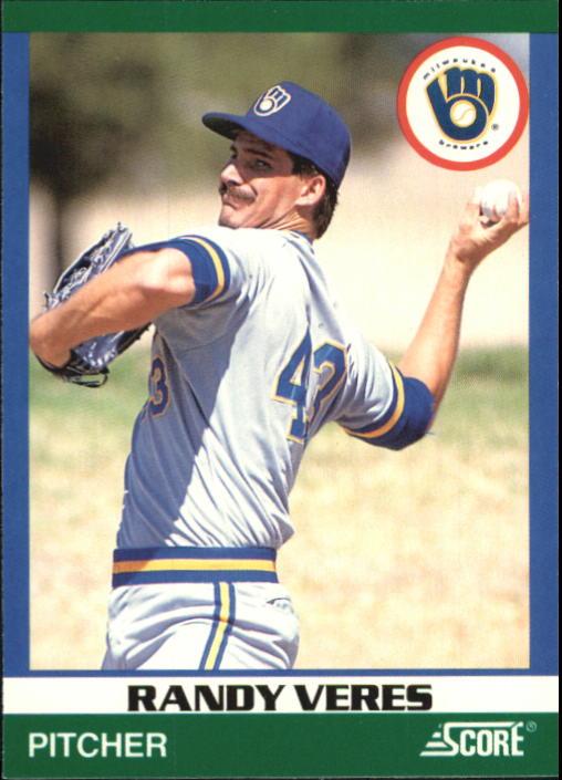 1991 Score 100 Rising Stars #12 Randy Veres